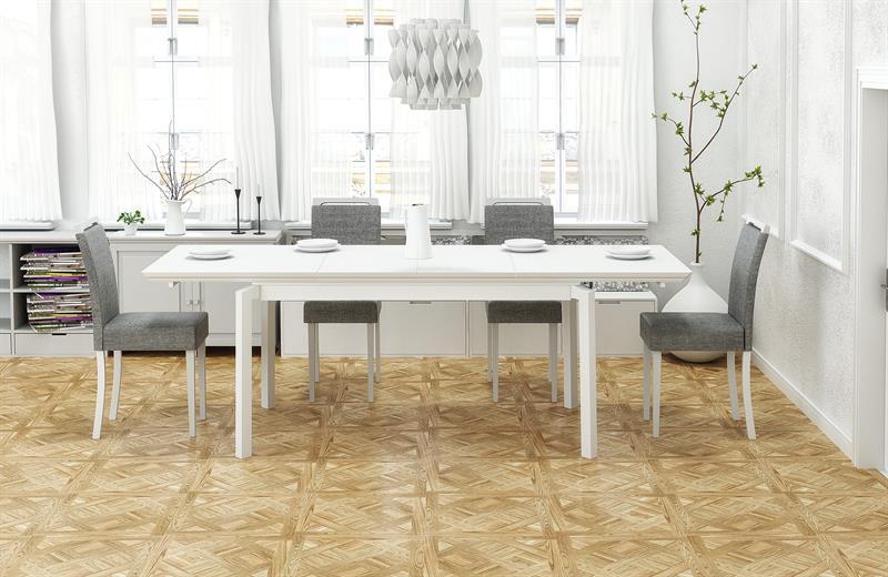 ROIS rozkladací stôl biela