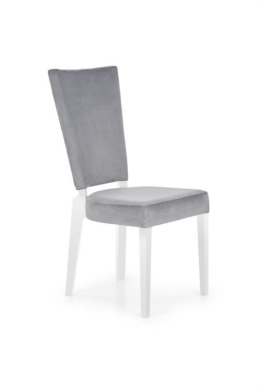 ROIS jedálenská stolička, biela / šedá