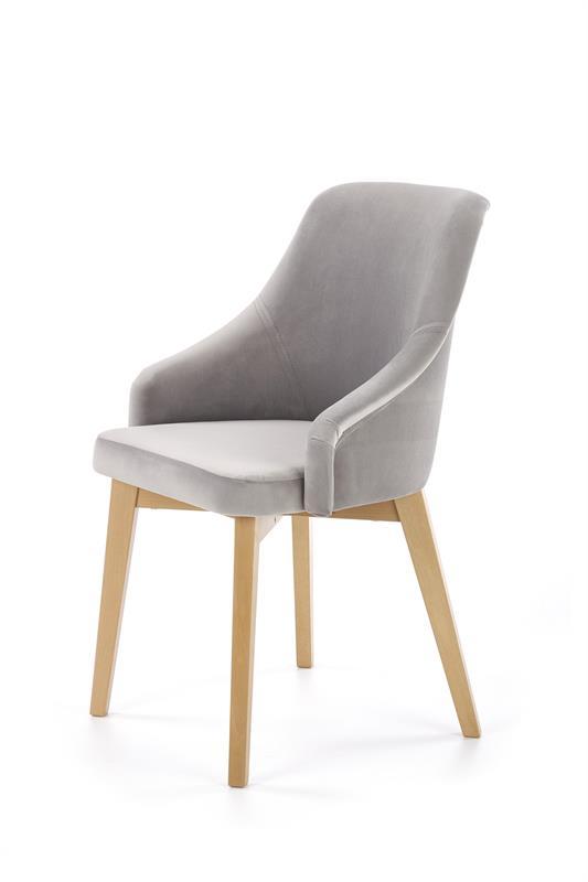TOLEDO 2 jedálenská stolička, medový dub / SOLO 265