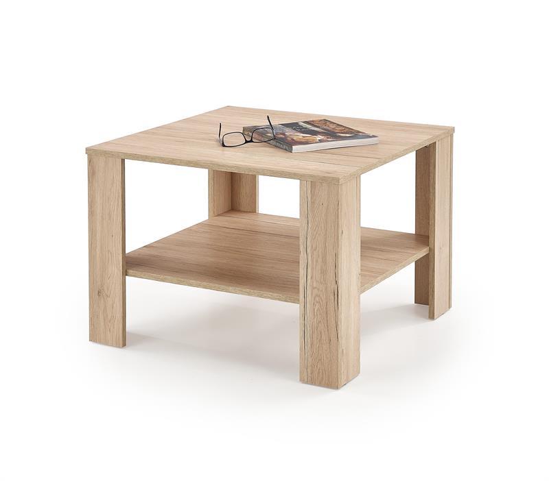 KWADRO SQAURE konferenčný stolík, dub san remo