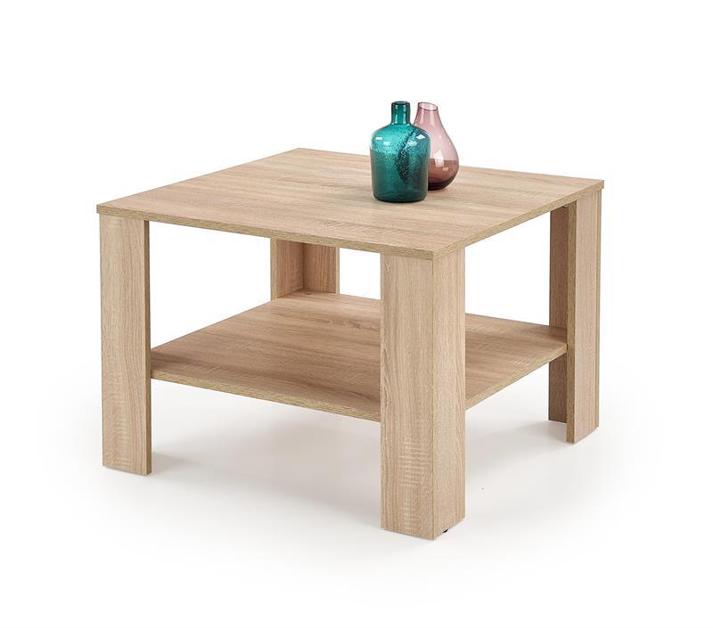 KWADRO SQAURE konferenčný stolík, dub sonoma