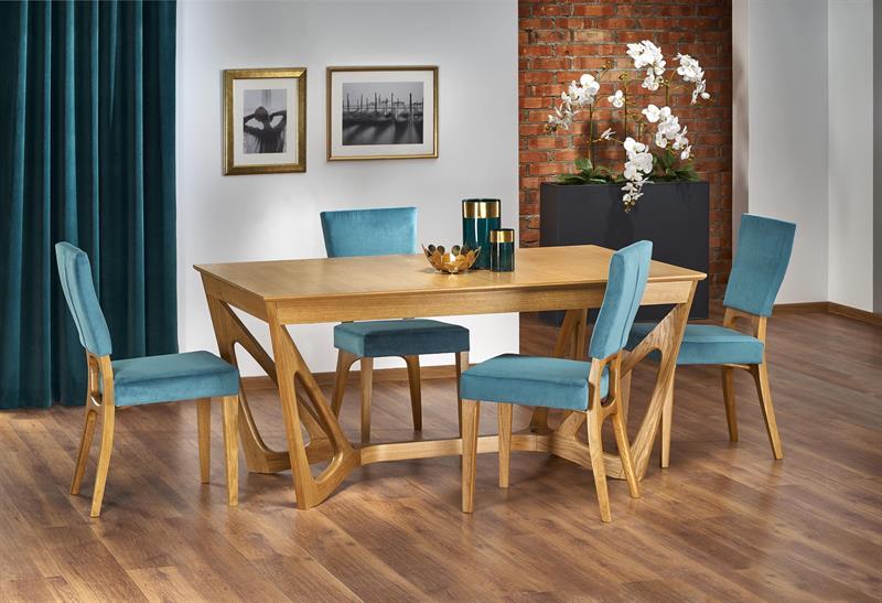 WENANTY stôl medový dub