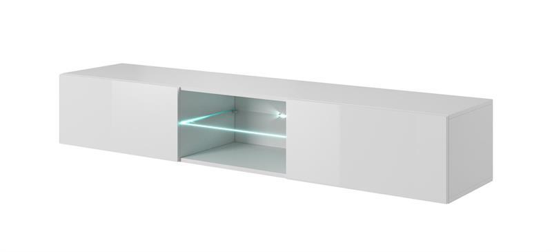 LIVO RTV-180W závesná TV- komoda, biela