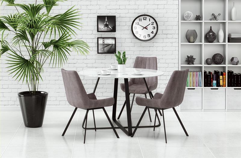 LOOPER stôl čierna / biela