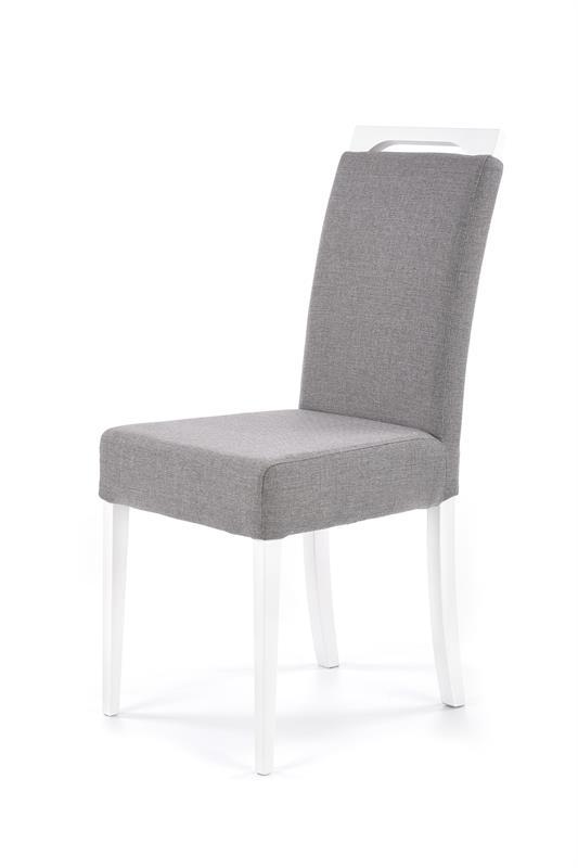 CLARION jedálenská stolička, biela / INARI 91
