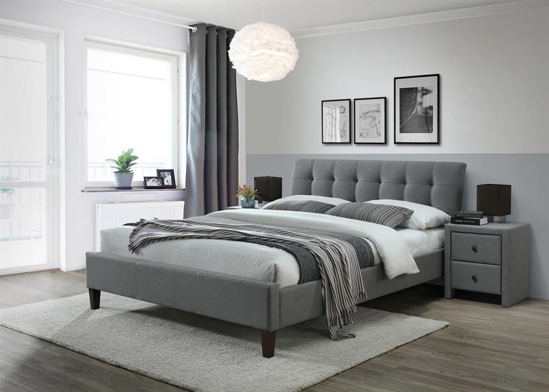 SAMARA 2 posteľ šedá