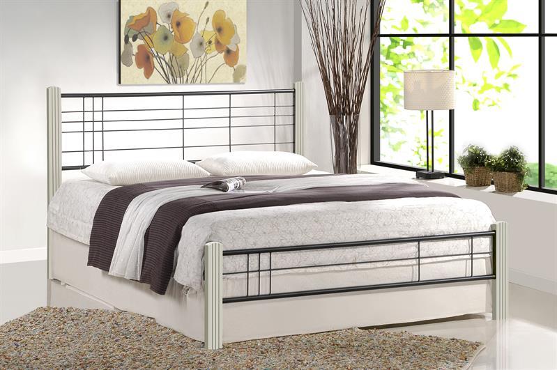 VIERA 160 posteľ, biela