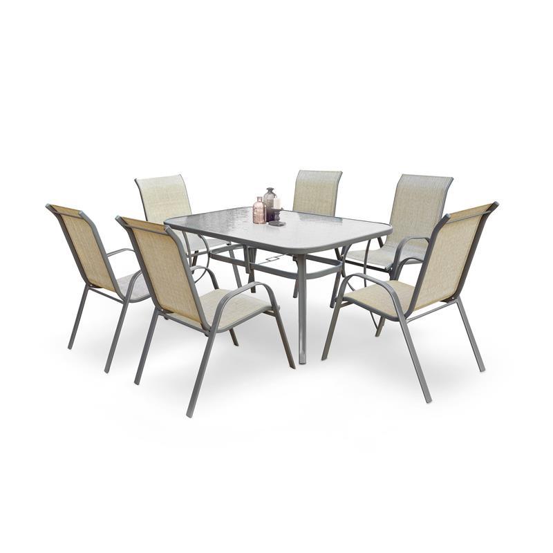MOSLER záhradný stôl