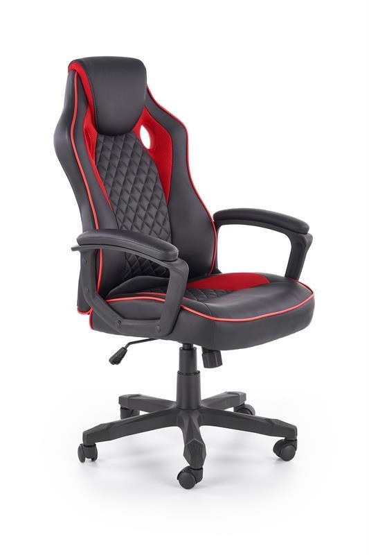 Kancelářská židle BAFFIN černá/červená