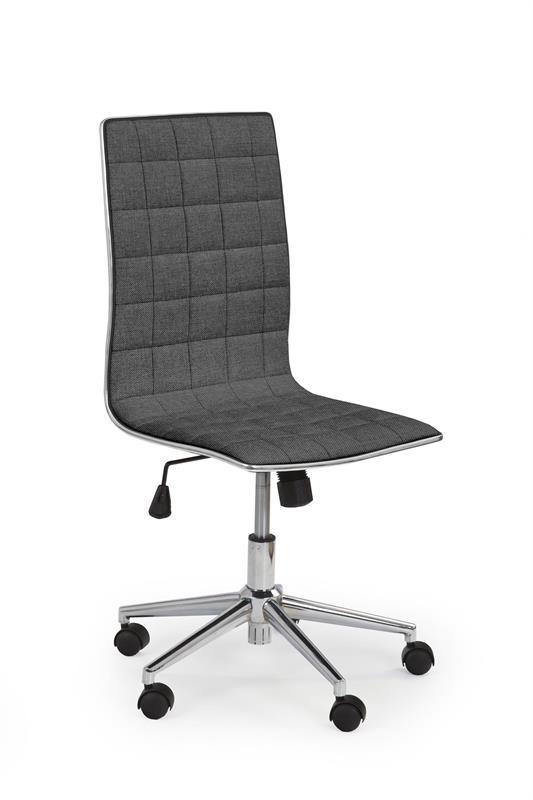 TIROL 2 kancelárska stolička tmavo šedá