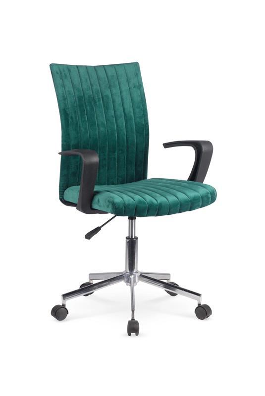 DORAL detská stolička, tmavo zelená