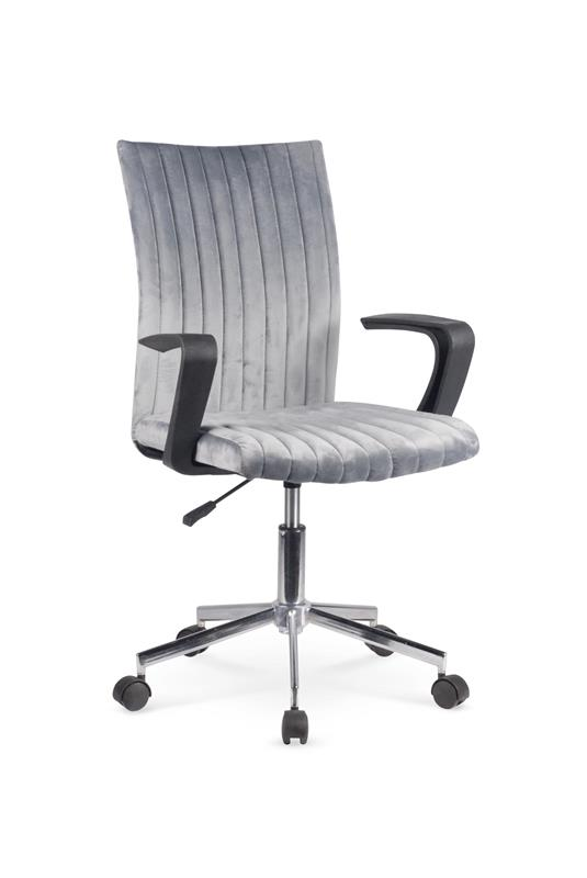 DORAL detská stolička, tmavo šedá