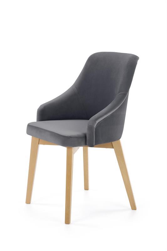 TOLEDO 2 jedálenská stolička, medový dub / SOLO 267