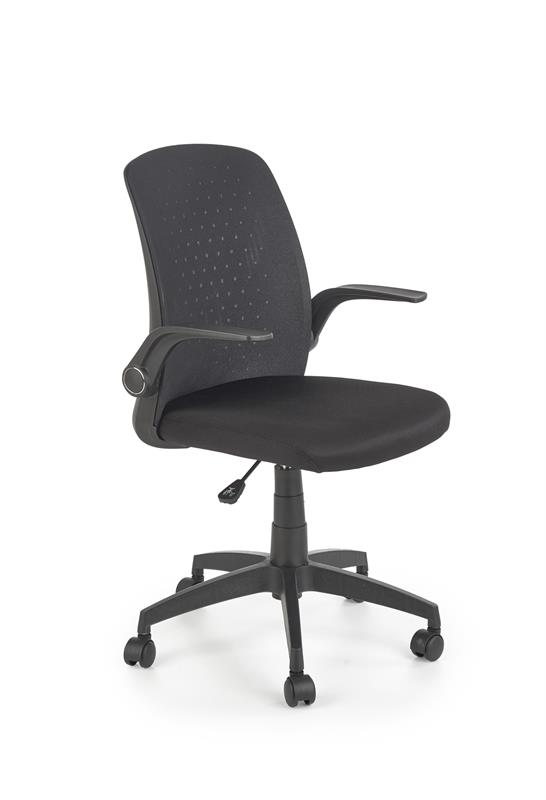 SECRET kancelárska stolička čierna / čierna