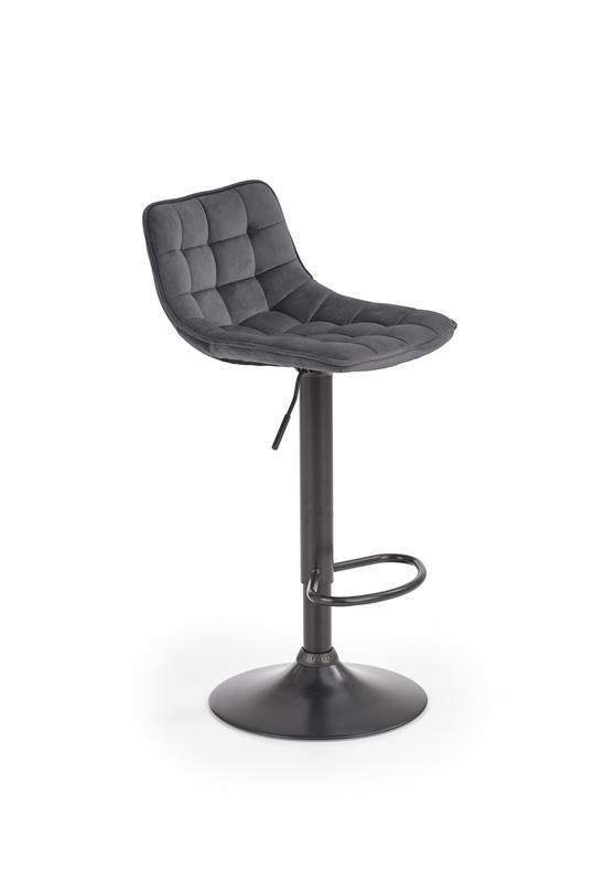 H95 barová stolička šedá