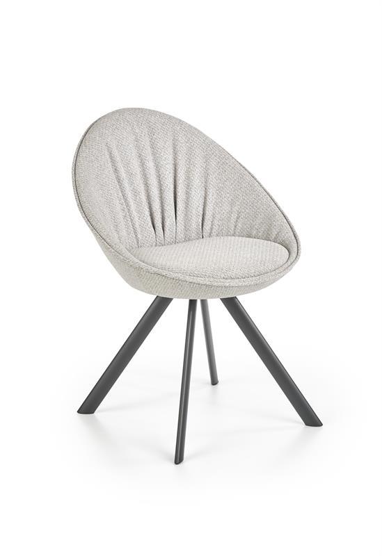 K358 jedálenská stolička šedá