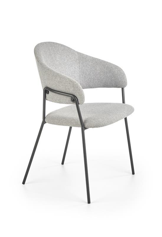 K359 jedálenská stolička šedá