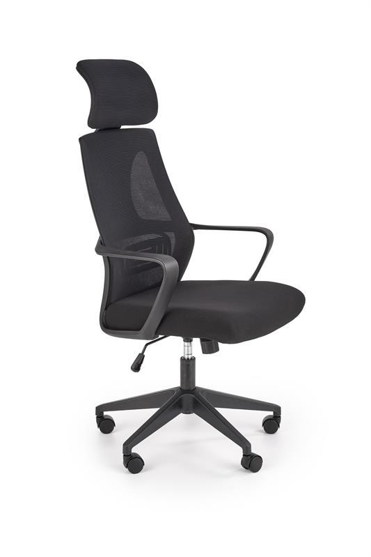 VALDEZ kancelárska stolička čierna / čierna