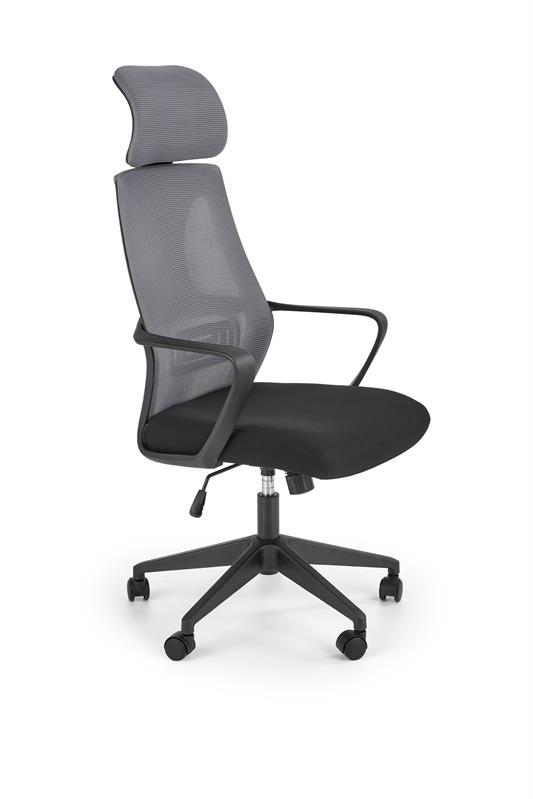 VALDEZ kancelárska stolička šedá / čierna