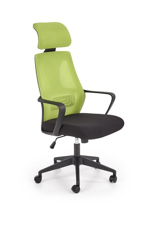 VALDEZ kancelárska stolička zelená / čierna