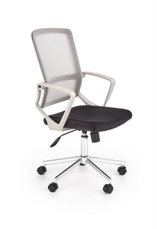 FLICKER kancelárska stolička s funkciou šedá / čierna