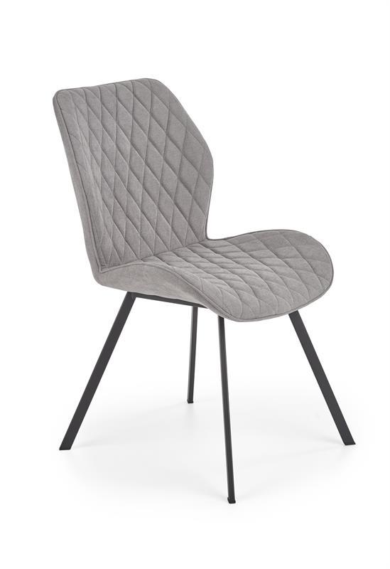K360 jedálenská stolička šedá