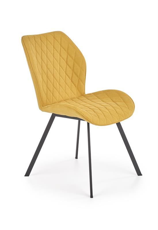 K360 jedálenská stolička horčicová