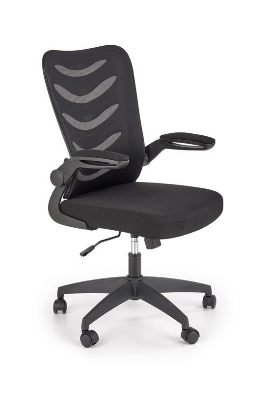 LOVREN kancelárska stolička čierna / čierna