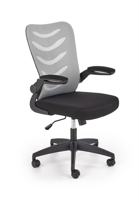 LOVREN kancelárska stolička šedá / čierna