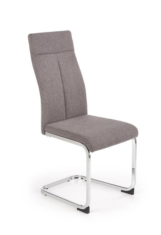 K370 stolička tmavo šedá
