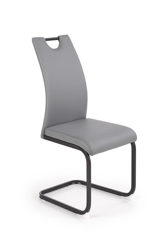 K371 stolička šedá