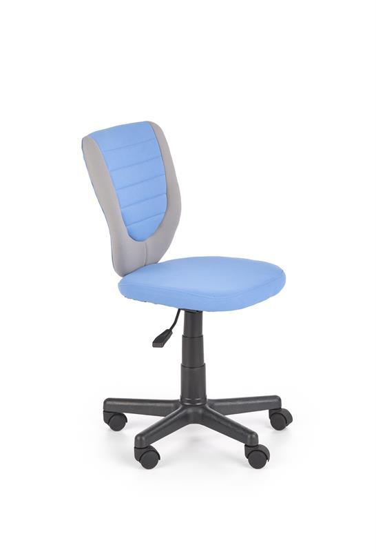 TOBY detská stolička šedá / modrá