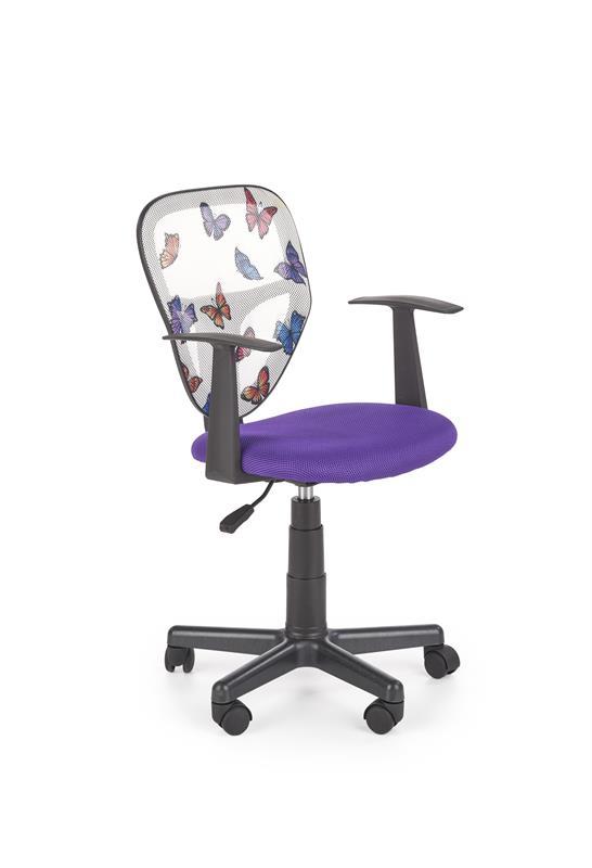 SPIKER detská stolička fialová