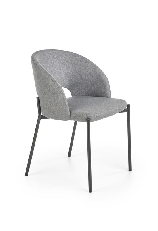 K373 jedálenská stolička šedá
