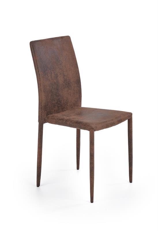 K375 jedálenská stolička tmavo hnedá