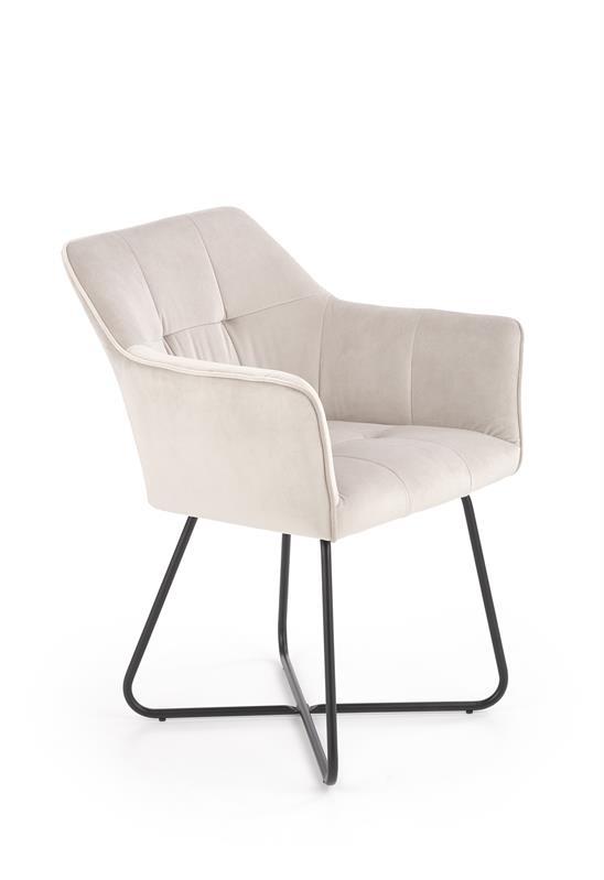 K377 jedálenská stolička béžová