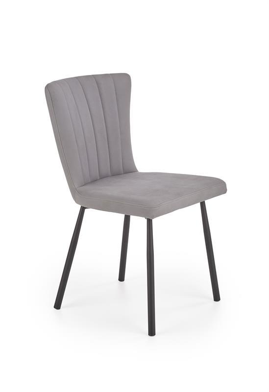 K380 jedálenská stolička šedá