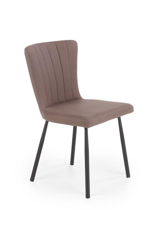 K380 jedálenská stolička hnedá