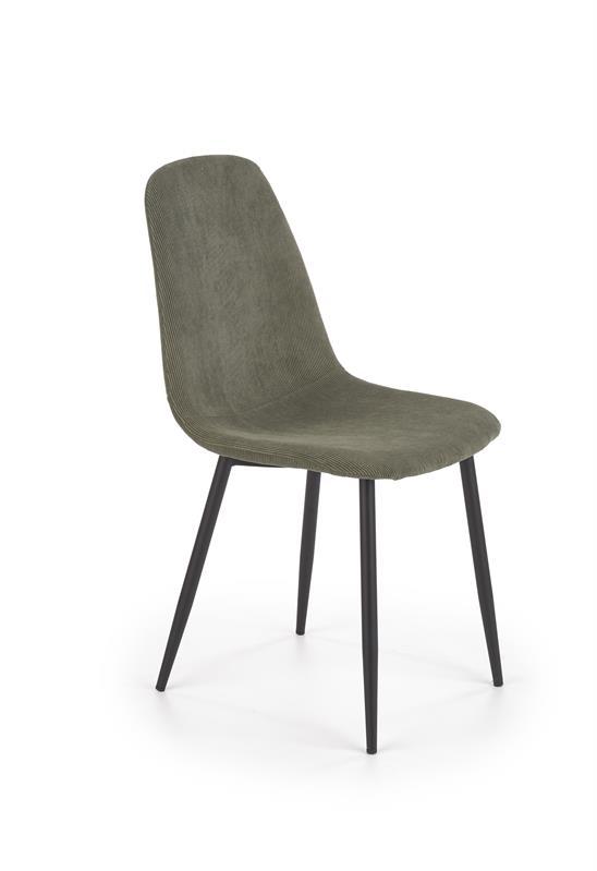 K387 stolička zelená
