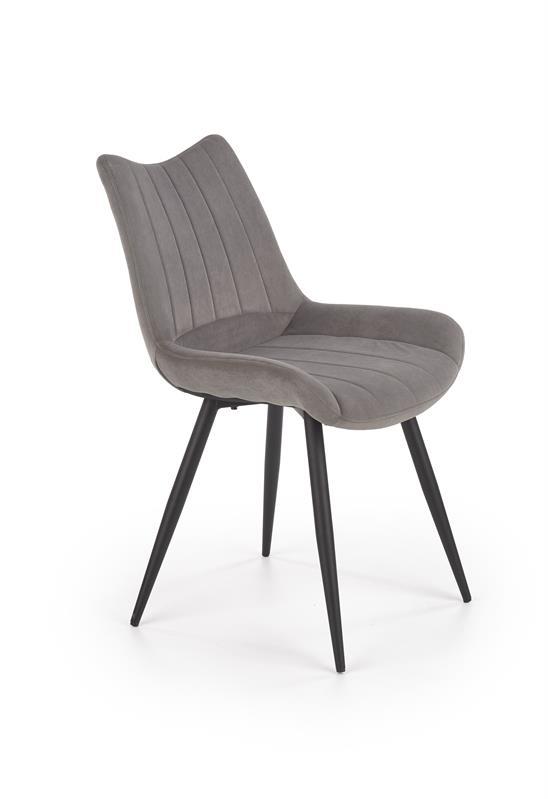 K388 stolička šedá