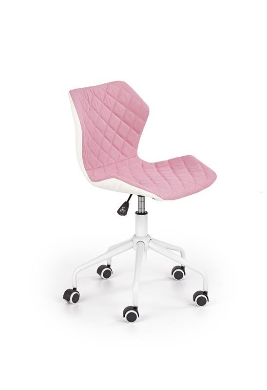 MATRIX 3 detská stolička svetlo ružová / biela