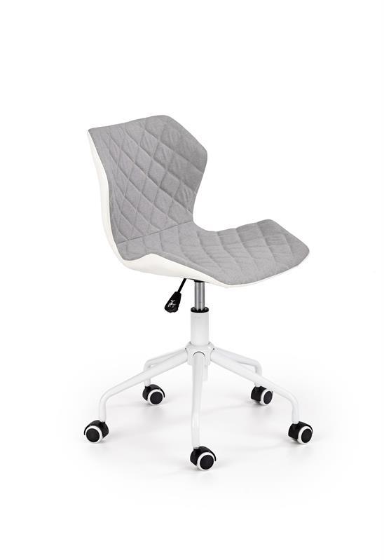 MATRIX 3 detská stolička svetlo šedá / biela - NA SKLADE!