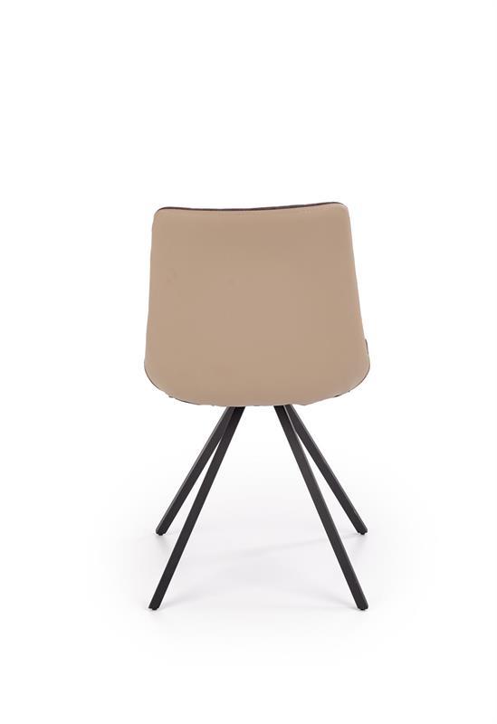 K394 jedálenská stolička tmavo šedá / šedá
