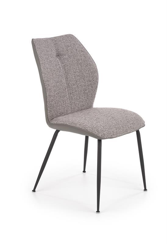 K383 jedálenská stolička svetlošedá / šedá