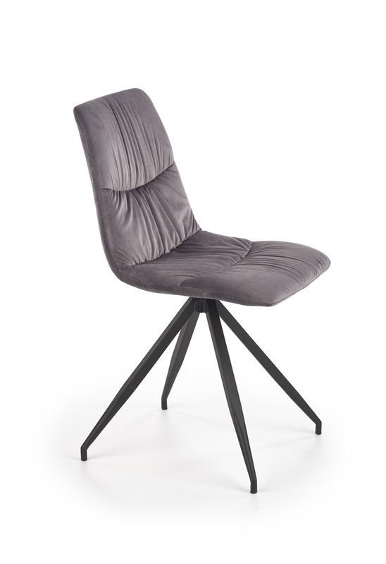 K382 jedálenská stolička šedá