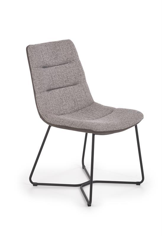 K403 stolička šedá / svetlo šedá