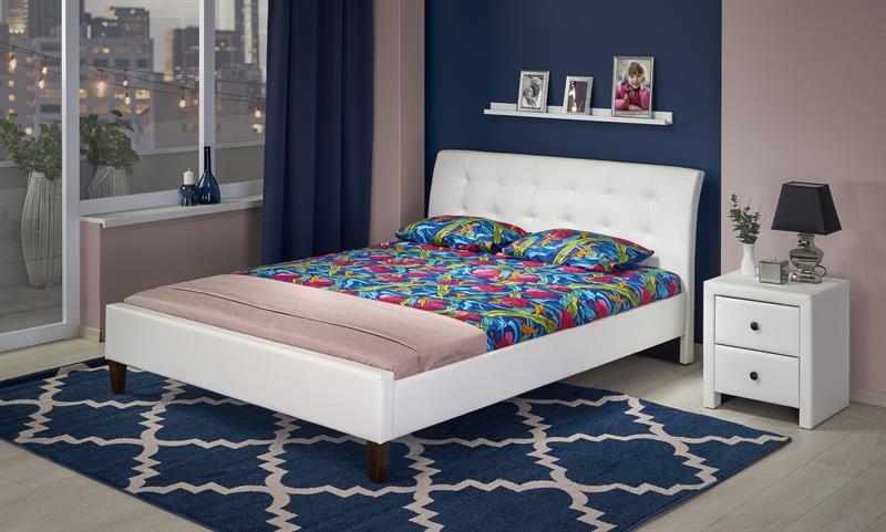 SAMARA 180 posteľ biela