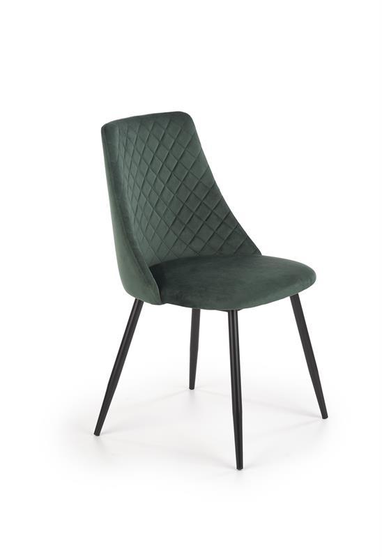 K405 jedálenská stolička tmavo zelená