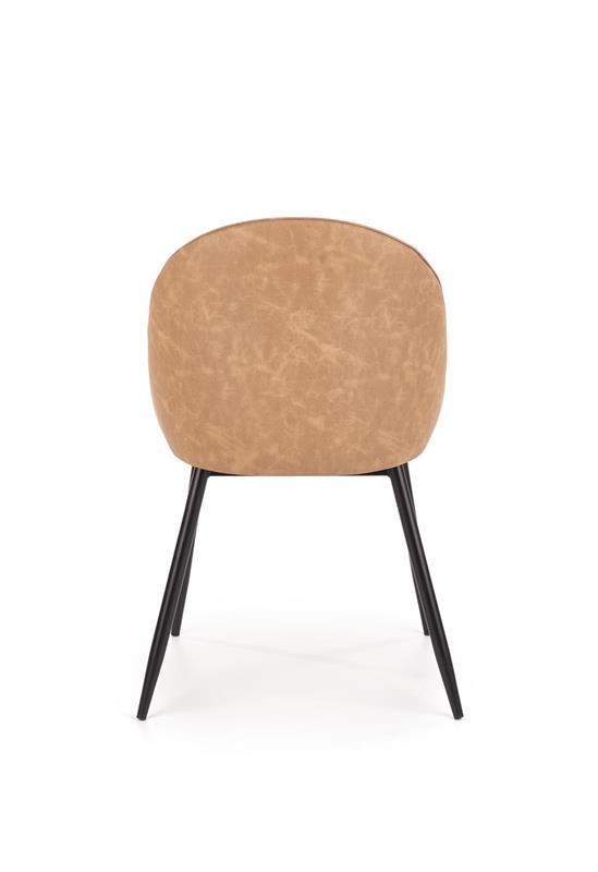 K406 jedálenská stolička svetlo hnedá