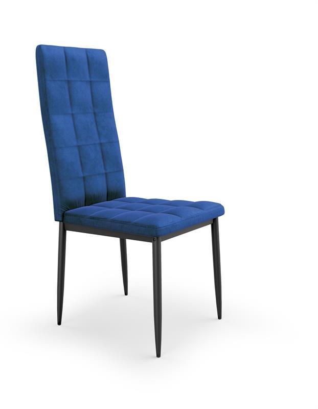K415 stolička granátová velvet